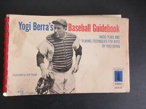 YOGI BERRA'S BASEBALL GUIDEBOOK FROM 1966   f