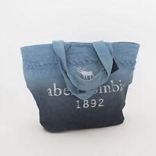 Abercrombie Kids Girls Denim Tote Bag Fade Medium Wash