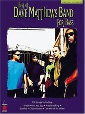 Hal Leonard Best of Dave Matthews for Bass