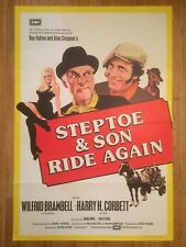 Steptoe and Son Ride Again 1973 Original British Comedy Film Poster