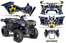 Atv Kit Graphique Décalque Quad pour Polaris Sportsman 570 2014-2017 Mltdwn Y
