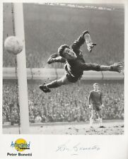 Autographed Editions 10 x 8 inch photo personally signed by Peter Bonetti Chelse