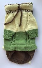 Handknit spring cotton Pet Hoodie,Dog Sweater,Pet Clothes,small dog coat