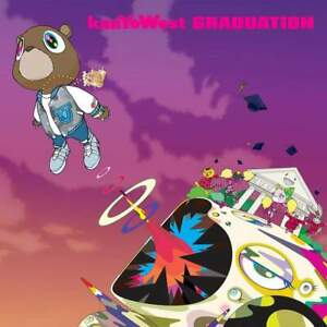 "Kanye West ""Graduation"" Art Music Album Poster HD Print Decor 12"" 16"" 20"" 24"""