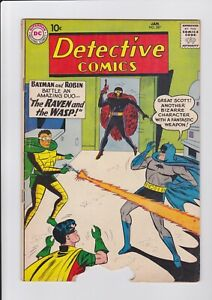 """Detective Comics #287, 1/61 """"worm chew"""" at margin story & art complete o/w VG/FN"""