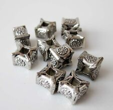 30Pcs Alloy Metal Flower Design Beads Finding--Pendant Beads--Jewelry Beads