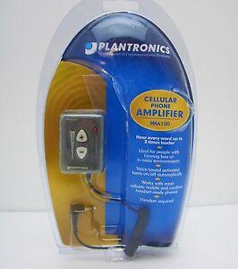 Plantronics MHA100 Cellulare Telefono Amplificatore Nuovo IN Scatola Aperta Con
