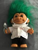 Russ RARE DENTIST TROLL DOLL with TOOTH AND PLIERS EXCELLENT CONDITION