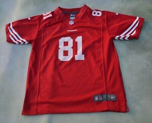 Nike On Field NFL San Francisco 49ers Anquan Boldin #81 Jersey Size Youth L.