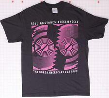 Rolling Stones No American Tour 1989 XL Black T-Shirt