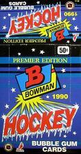 1990 Bowman Hockey - Empty Display Box