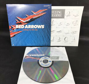 RED ARROWS - UK Laserdisc PAL CAV with The Flying Programme Sheet
