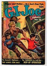 Ziff Davis: G.I. JOE #28 - VG+ 1954 Vintage Comic