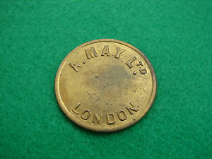 Token London Market A May Ltd 2 Shillings Round GSP