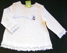 GYMBOREE Apres Ski Cream Cotton Snow Shoe Dog Top Girls 12 18 M New