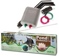 Velda Pond Protector - Koi Fish Ponds Electric Fence Heron Cat Scarer Deterrent