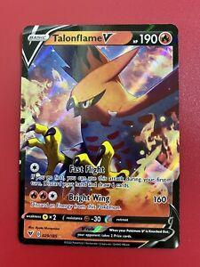 Pokemon Card TALONFLAME V 29/185 Ultra Rare Holo VIVID VOLTAGE 029/185 Mint