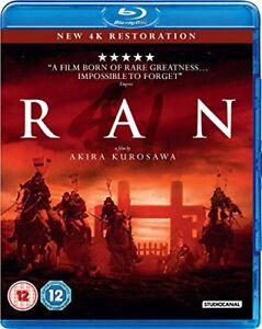 Ran (Digitally Restored) [Blu-ray] [2016] [DVD][Region 2]