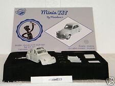 CITROËN 2 CV AZLP 1961 Swarovski® designed By Minialuxe France 1/43è Ref Kit_001