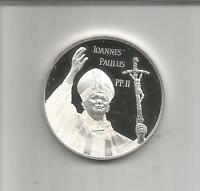 CANADA 10 DOLLARS 2005 JOANNES PAULUS II. PROOF SILVER COIN. 4RW 25 AGO