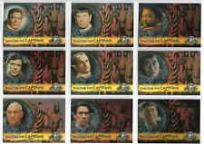Star Trek Cinema 9 Saluting the Captains Chase Card Sets SKYBOX 2000