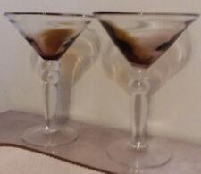 Martini Glasses-Set of 2-Beautiful and Useful