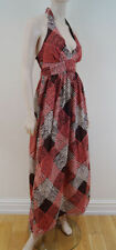 NEXT Cotton V-Neck Geometric Dresses for Women