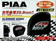 NEW PIAA horn [Slender horn] 400Hz / 500Hz Black 2 pieces HO-12 Japan f/s