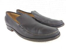 TODS Brown Leather Loafers Men size 8 US - Italy