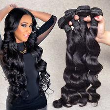 4 Bundles Brazilian Virgin Human Hair 400g Unprocessed Loose Wave Hair Extension