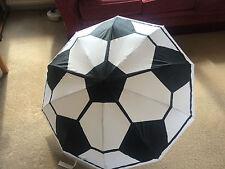 Paraguas plegable de diseño de fútbol soccer único diseñador Regalo ** Free P & P ***