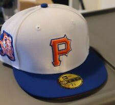 Hat Club 7 3/8 Pittsburgh Pirates Fitted Cap World Series Hatclub Candy White