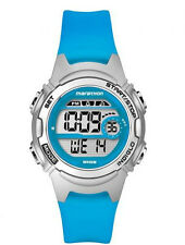 Timex Childrens Marathon Watch With Blue Resin Strap TW5K96900