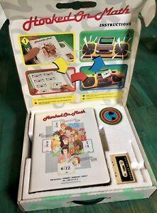 *IN BOX* HOOKED ON MATH Phonics Gateway 1992 Educational Tapes Homeschool Kit