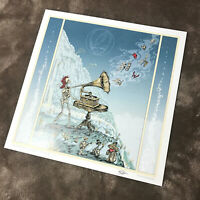 """Grateful Dead Let There Be Songs - 13""""x13"""" Litho Print Poster - signed M.DuBois"""