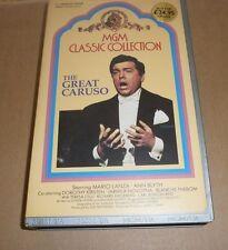 MARIO LANZA - The Great Caruso - VHS, englisch