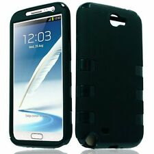 For Samsung  Galaxy Note 2 N7100 I317 I605 L900 Fusion Tuff Hybrid Case Cover