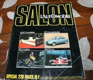 magazine L AUTOMOBILE SALON 1978
