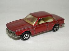 Majorette 235 BMW 3.0 CSI Weinrot 1:60