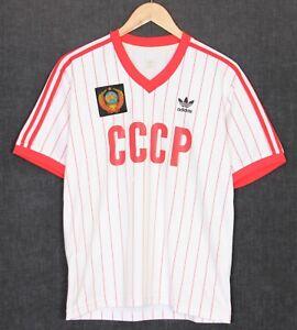 ADIDAS CCCP USSR SOVIET UNION 1982 Football Shirt Jersey Men Size S / Small