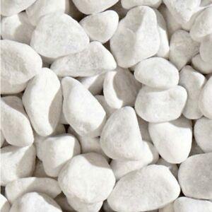 Marmor - Steine weiß 60-100 mm 25kg (€0,99/1kg) Sack Deko Garten Terrasse