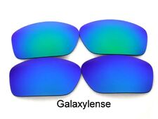 Galaxy Anti-Sea Lens For Costa Del Mar Caballito Sunglasses Blue/Green Polarized