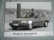 Peugeot 309 Graffic Press Photo brochure 1991 German text