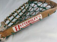 Vintage Wood Lacrosse Stick By T S Hattersley's Viktoria Women's Lax Woodie