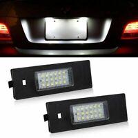 2PCS BMW LED Licence Number Plate Light 1 6 Z Series E81 E87 E63 E64 E85 E89