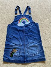 Cute Dungarees Dress Age 7-8