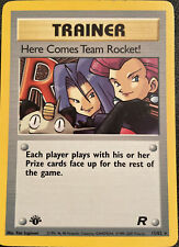 1st Edition Here Comes Team Rocket! 15/82 Holo Pokemon Card