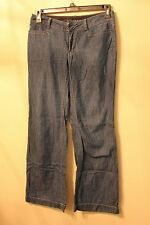 BANANA REPUBLIC WIDE LEG JEANS PANTS SIZE 6 HOBO BLUE
