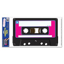 CASSETTE PLAYER PEEL & PLACE 80'S STYLE PARTY DECORATION