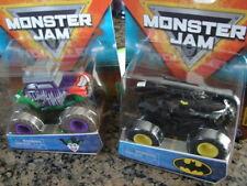 NEW! Monster Jam JOKER Series 14 & Batman Series 11 LOT (2) DC Heroes & Villains